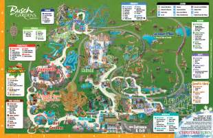 busch gardens florida map the thrills busch gardens ta
