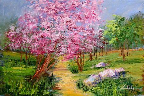 dipingere fiori a olio artecarlacolombo opera quadro ad olio paesaggio