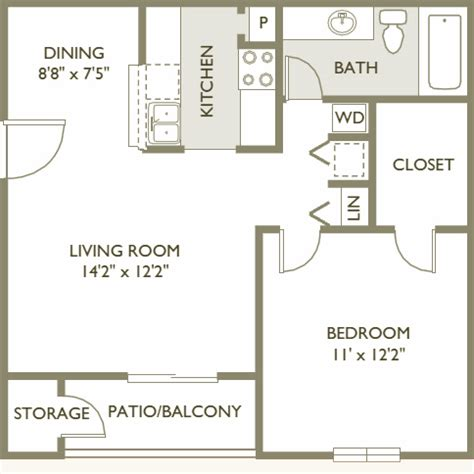 how big is 650 sq ft sunscape apartment homes ta florida