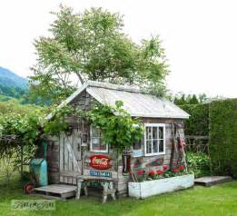 if rustic garden sheds could tell stories this one would
