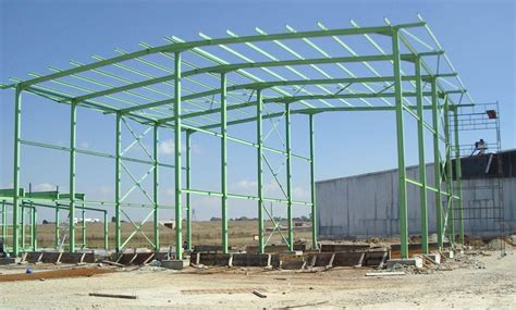 Steel Structure Shed by China Steel Frame Workshop Building Ss 526 Photos
