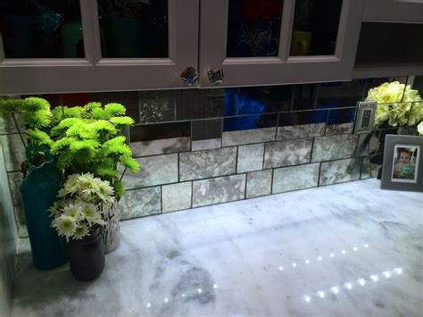 antique mirror glass backsplash tile antique mirror backsplash the glass shoppe a division of