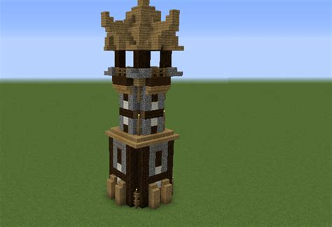 Blue Prints For Houses Medieval Guard Tower Grabcraft Your Number One Source