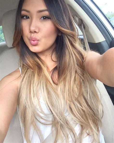 whats a hot hair color here s why all your asian girlfriends are going blond