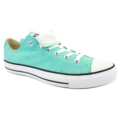 Light Blue Converse by Converse All Tongue Ox Womens Trainers 530234c