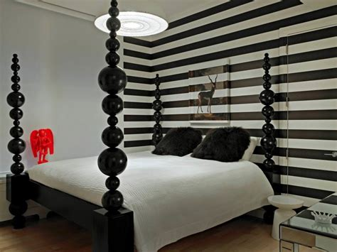 black and white striped wall 25 black bedroom designs decorating ideas design trends premium psd vector downloads