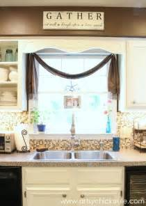 curtain ideas for kitchen windows creative kitchen window treatment ideas hative
