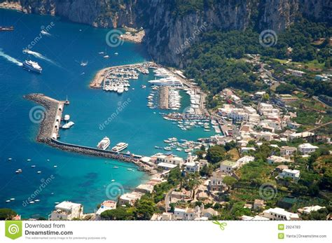 House Plans by Capri Island Stock Image Image Of Italian House Blue