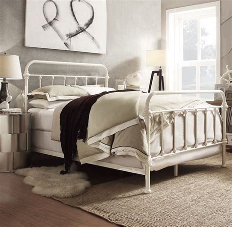white iron twin bed white iron bed frame twin full queen bedroom furniture