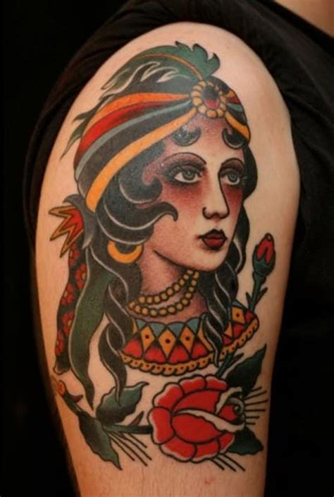 60 beautiful gypsy tattoos for those forever wandering