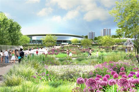 Landscape Design Masters New Master Plan For Wimbledon Incorporates Green Walls