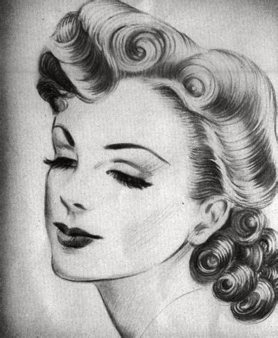 upsweep hairstyles for older women 60 best images about 1940 s hair make up on pinterest