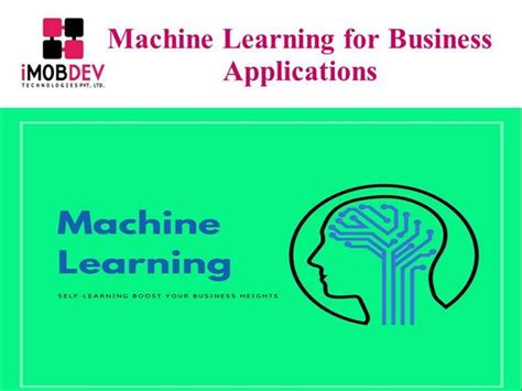 machine learning for business a simple guide to data driven technologies using machine learning and learning books machine learning for business applications authorstream