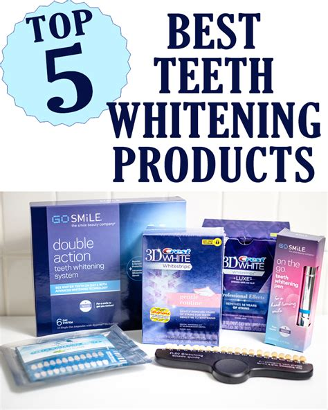 discover 5 best teeth whitening products six clever