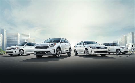 kia vehicle lineup going green with help from kia motors