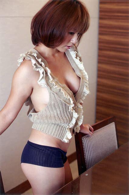asian cute gallery sayaka isoyama in yarn vest