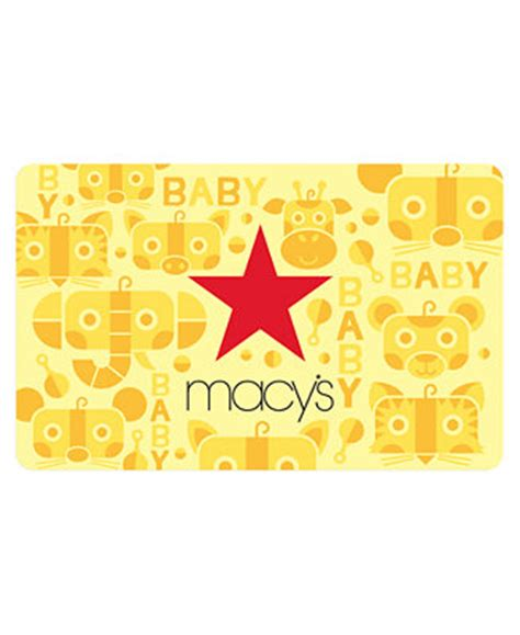 Gift Card Macy S - macy s baby e gift card gift cards macy s