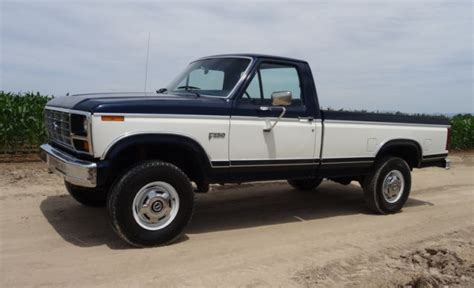 manual cars for sale 1984 ford f250 electronic valve timing 1984 ford f250 1 owner original low mileage 4x4 for sale photos technical specifications