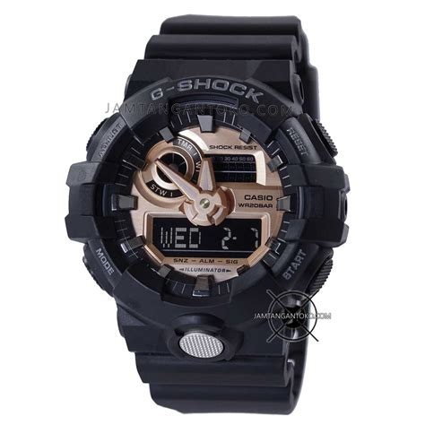 G Shock Ga 400 Rosegold Black Rubber Autolight On gambar jam tangan g shock ori bm ga 710rg 1a black