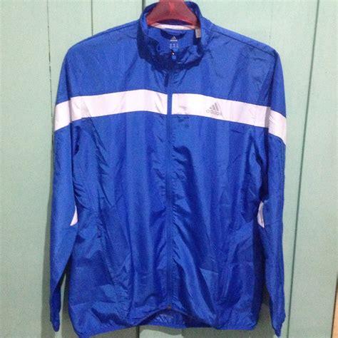 Jaket Olahraga Adidas Sport jual adidas response wind biru size s jaket running
