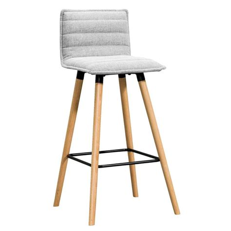 Tabouret De Bar Gris by Tabouret De Bar Mariska Gris Clair