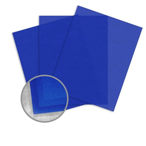 How To Make Translucent Paper - blue paper 8 1 2 x 11 in 27 lb bond translucent vellum