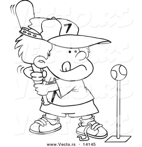 coloring page of boy playing baseball gallery for gt baseball player outline coloring