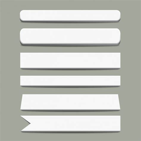 Paper Banner Templates Vector Free Download Paper Banner Template