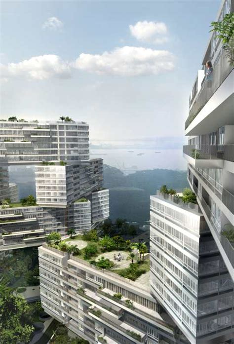 the interlace jenga like apartments for singapore the interlace jenga like apartments for singapore