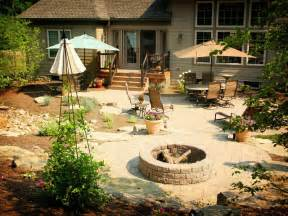 Backyard Ideas With Firepit Backyard Pit Design Ideas A Creative