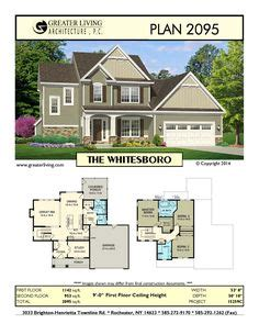 new house plan 86154 total living area 2673 sq ft 5 plan 2102 the halstead house plans two story house