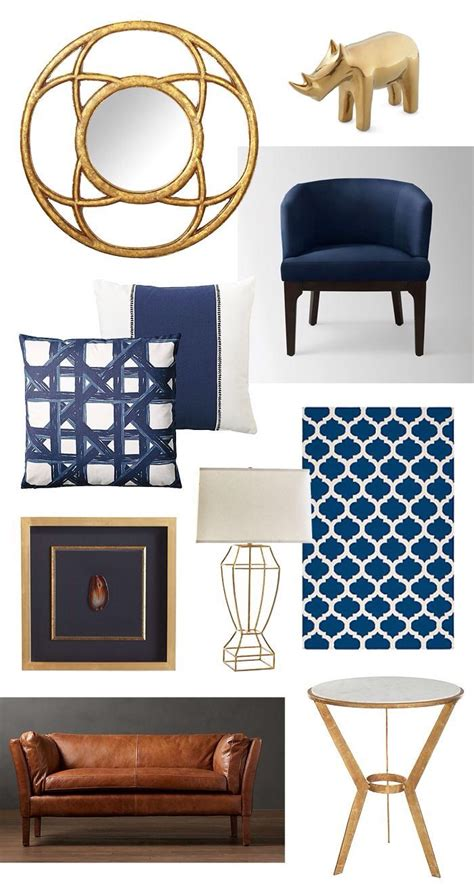 Navy Blue Room Decor by 25 Best Ideas About Navy Office On