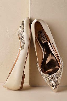 Bride And Groom Table Decor Flat Wedding Shoes Bridal Flats Bhldn