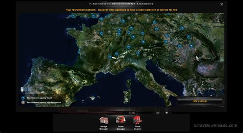hd realistic map ets mods