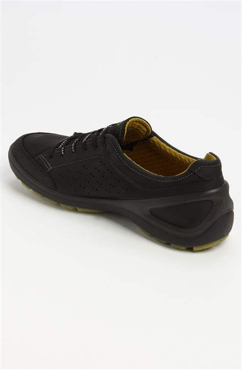 ecco sneakers mens ecco biom grip sneaker in black for lyst