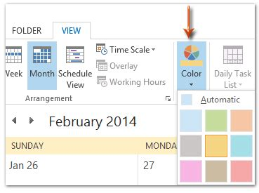 Was The Calendar Changed How To Change The Calendar Color In Outlook