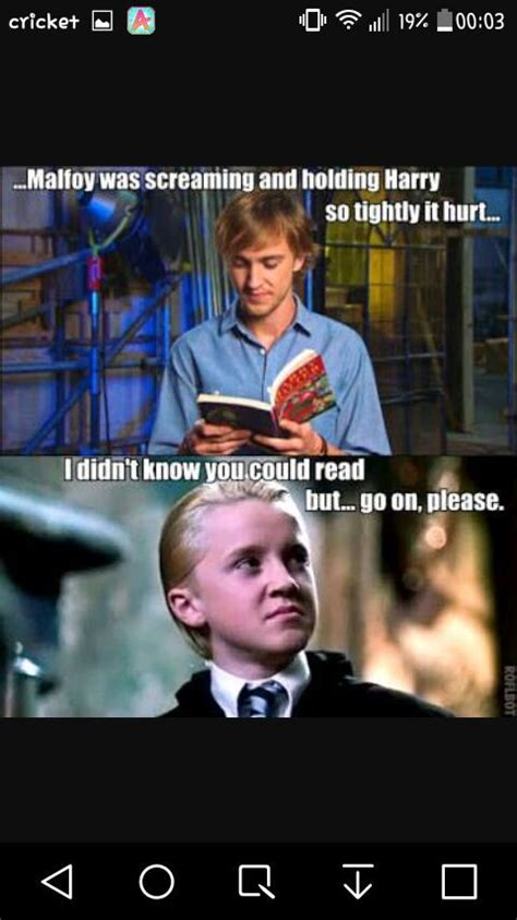 Drarry Memes - in my opinion cute drarry memes drarry amino