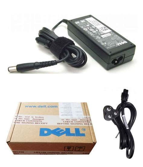 Charger Dell 19 5v 3 34a Original dell genuine original laptop adapter charger 65w 19 5v 3