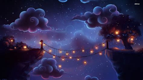 Bright Lamp For Bedroom fairy tale like bridge wallpaper artistic wallpapers