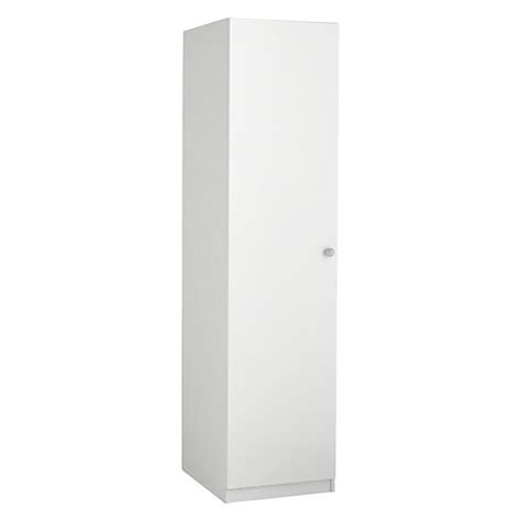 Single White Wardrobe Buy Home At Lewis Mix It Grey Wooden Handle