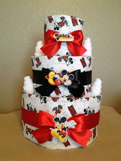 Baby Shower Decorations Mickey Mouse by 3 Tier Mickey Mouse Cake