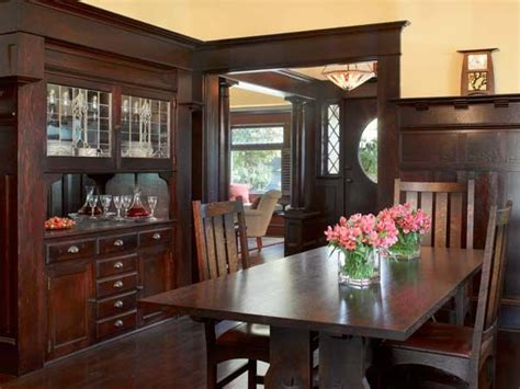 craftsman style dining room 177 best 1920s dining room images on pinterest dining