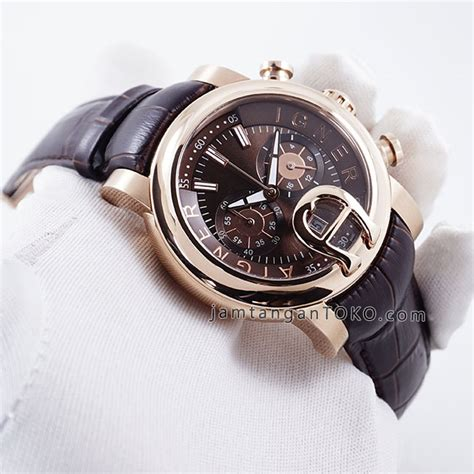Aigner Bari Rosegold Brown Leather harga sarap jam tangan aigner bari chronograph brown leather