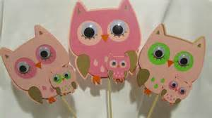 owl baby shower decoration owl baby shower centerpiece 3 set