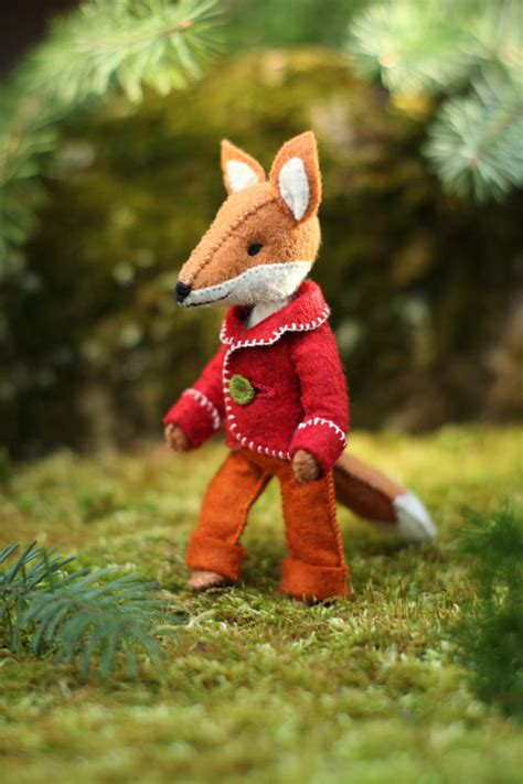 Etsy Fox Pattern | felix the fox pdf pattern felt fox ornament felt animal