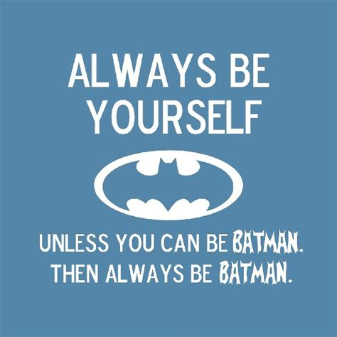 Motivational Quote Poster Be Better Be Your Self Hiasan Dinding always be yourself batman inspiration motivational inspirational fabric silk poster print great