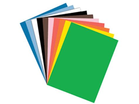 colored construction paper supplies the pantry