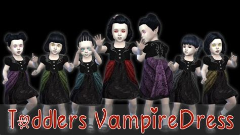 Harry Potter Bathroom Decor by Toddlers Vampire Dress At Seger Sims 187 Sims 4 Updates