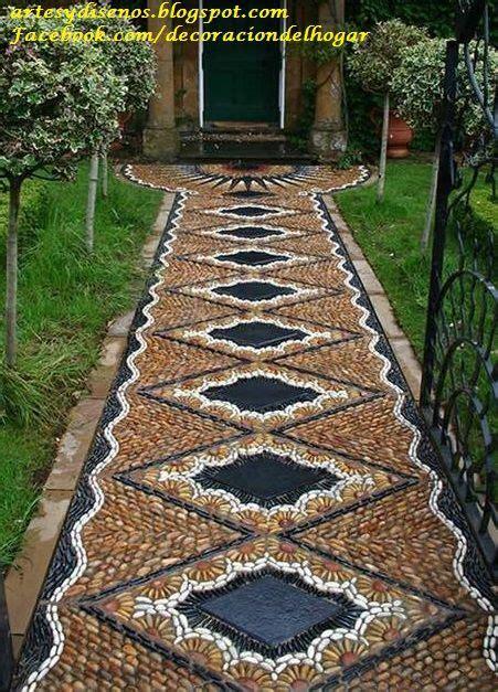 piedra para jardines pisos con piedras para jardines by artesydisenos