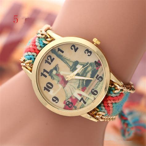 watch for girls beautiful collections 2015 hot fashion style hand knitted 5 colors tower